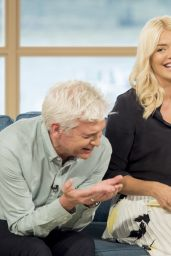 "Holly Willoughby - ""This Morning"" TV Show in London 06/27/2017"