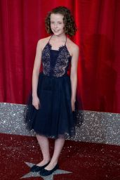 Honor Kneafsey on Red Carpet – British Soap Awards in Manchester, UK 06/03/2017