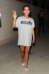 Isabela Moner – MOSCHINO Spring Summer 2018 Collection in LA 06/08/2017