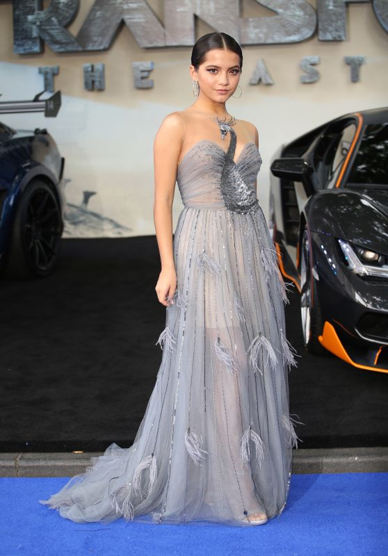 """Isabela Moner - """"Transformers: The Last Knight"""" Premiere in London 06/18/2017"""