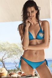 "Isabeli Fontana - Bikini Photoshoot for Twinset ""Coup de Coeur"" Collection 2017"