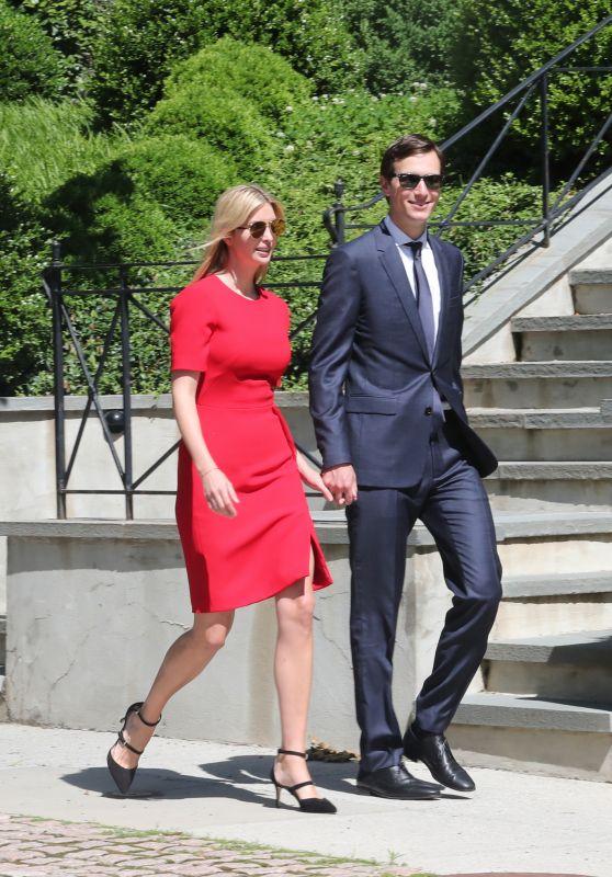 Ivanka Trump and Jared Kushner Head to Synagogue to Celebrate Shavuot in Washington 06/01/2017