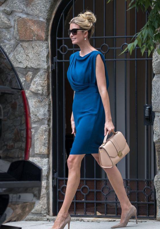 Ivanka Trump - Leaves her House in Washington 06/19/2017