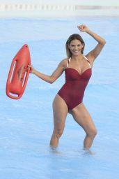 Ivonne Reyes in Swimsuit at the the Warner Park in Madrid 06/23/2017