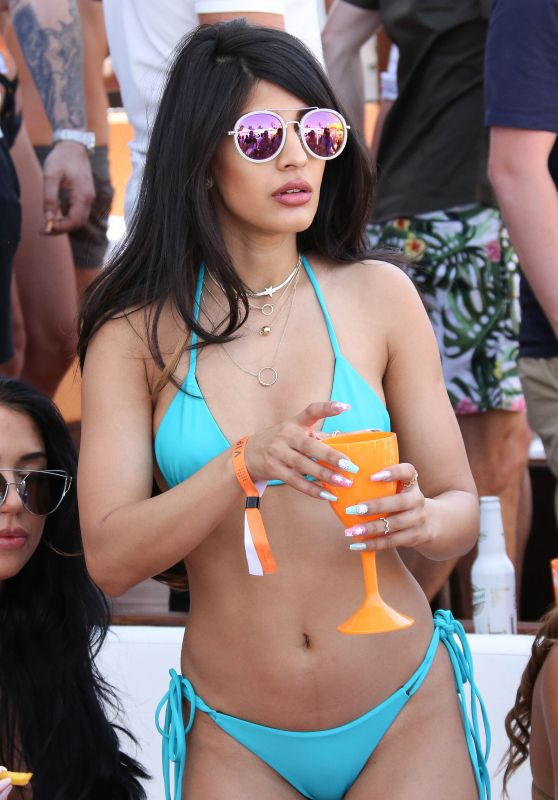 "Jasmin Walia in a Bikini - ""I saw it first"" Launch Party at Ocean Beach Club Ibiza, May 2017"
