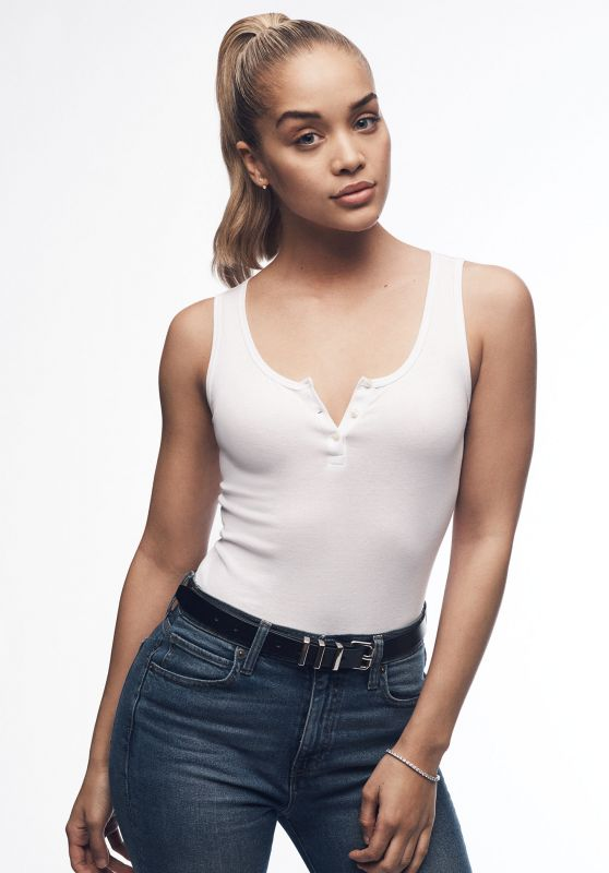 "Jasmine Sanders - Photoshoot for GAP ""Bridging the Gap"" Campaign 2017"