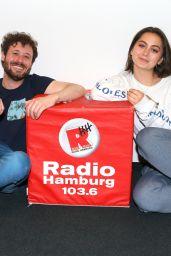 Jasmine Thompson - Radio Hamburg Live Lounge in Hamburg 06/21/2017