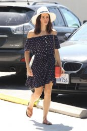 Jenna Dewan Summer Style - Out in West Hollywood, CA 06/21/2017