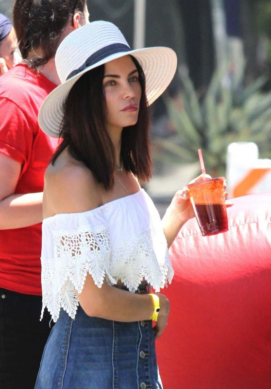 Jenna Dewan Tatum at the Farmer
