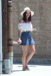 Jenna Dewan Tatum at the Farmer