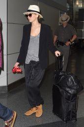 Jennifer Lawrence at JFK Airport in New York 06/22/2017