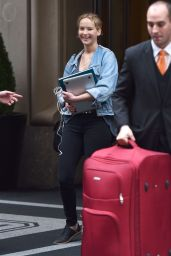 Jennifer Lawrence - Leaving Her Hotel in NYC 06/05/2017