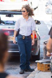 "Jennifer Lopez - ""Shades of Blue"" Set in Brooklyn, NY 06/19/2017"