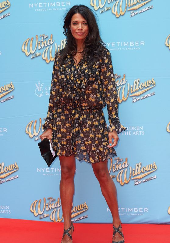 "Jenny Powell - ""The Wind in the Willows"" Musical Opening Night in London, UK 06/29/2017"