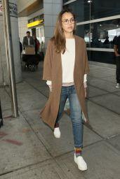 Jessica Alba at JFK Airport in New York City 06/14/ 2017
