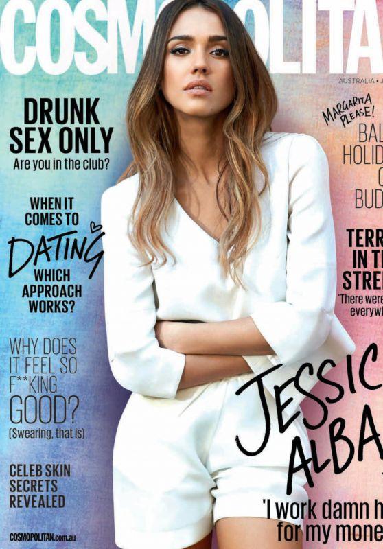 Jessica Alba - Cosmopolitan Australia July 2017 Issue