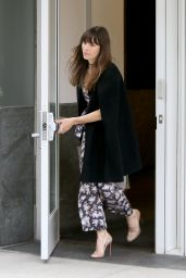 Jessica Biel - Exiting Her Home in New York 06/06/2017