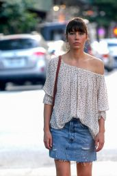 "Jessica Biel - ""The Sinner""Set in New York City 06/13/2017"
