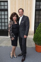 Joan Collins at Monte Carlo TV Festival Cocktail Party - Monaco Palace 06/18/2017