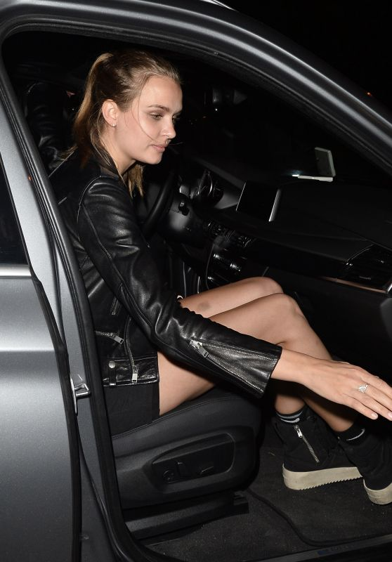 Josephine Skriver - Leaving Catch LA in West Hollywood 06/16/2017