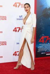 """Kara Del Toro - """"47 Meters Down"""" Premiere in Hollywood 06/12/2017"""
