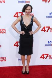 "Karina Smirnoff – ""47 Meters Down"" Premiere in Hollywood 06/12/2017"