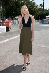 """Karlie Kloss at """"Joanna Coles in Conversation With Karlie Kloss"""" Seminar - Cannes Lions Festival 06/19/2017"""
