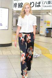Karlie Kloss - Sighting In Tokyo, Japan 06/27/2017