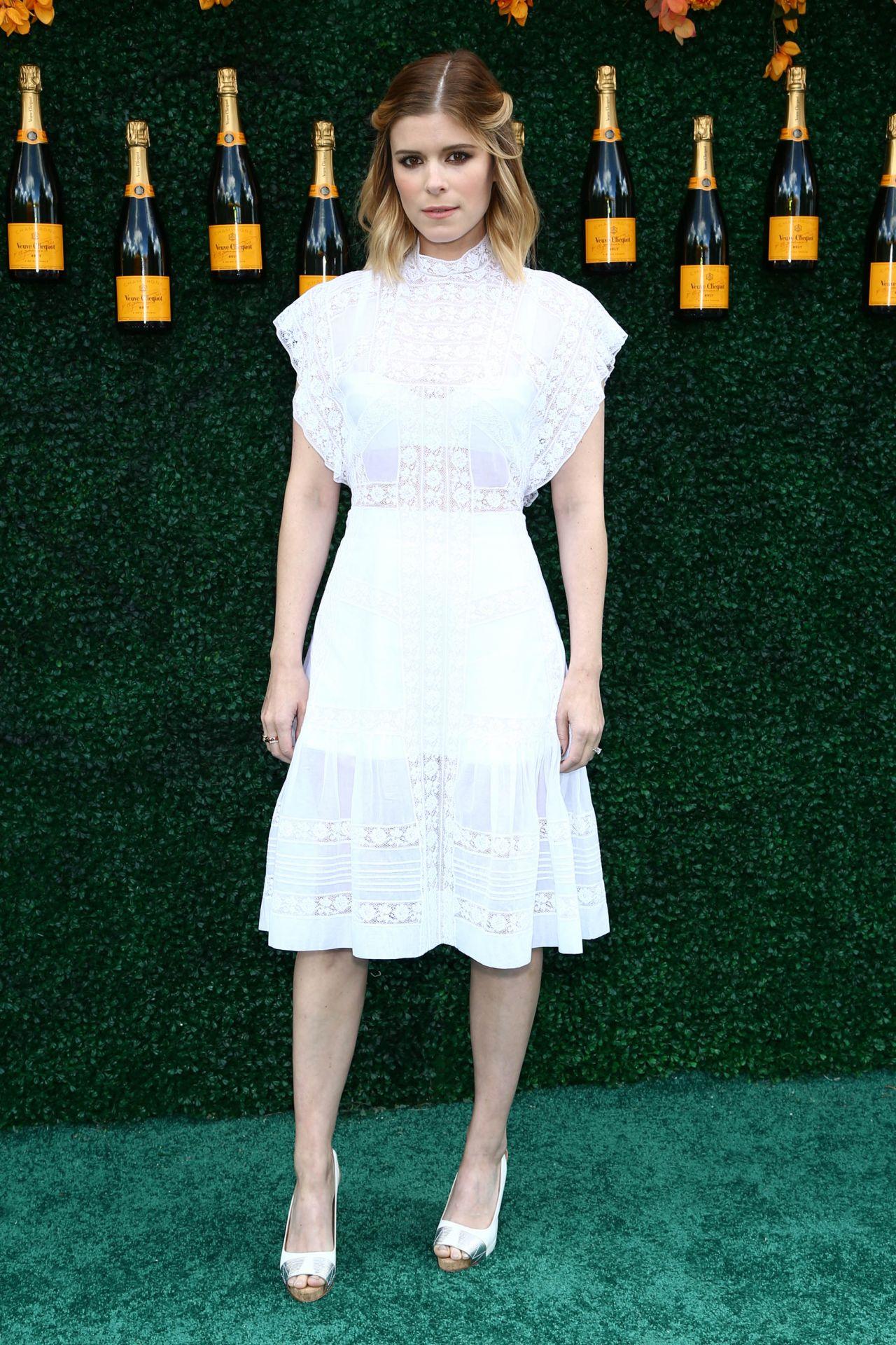 Kate Mara Veuve Clicquot Polo Classic