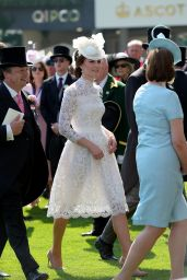 Kate Middleton - Royal Ascot 2017 at Ascot Racecourse in Ascot, UK 06/20/2017