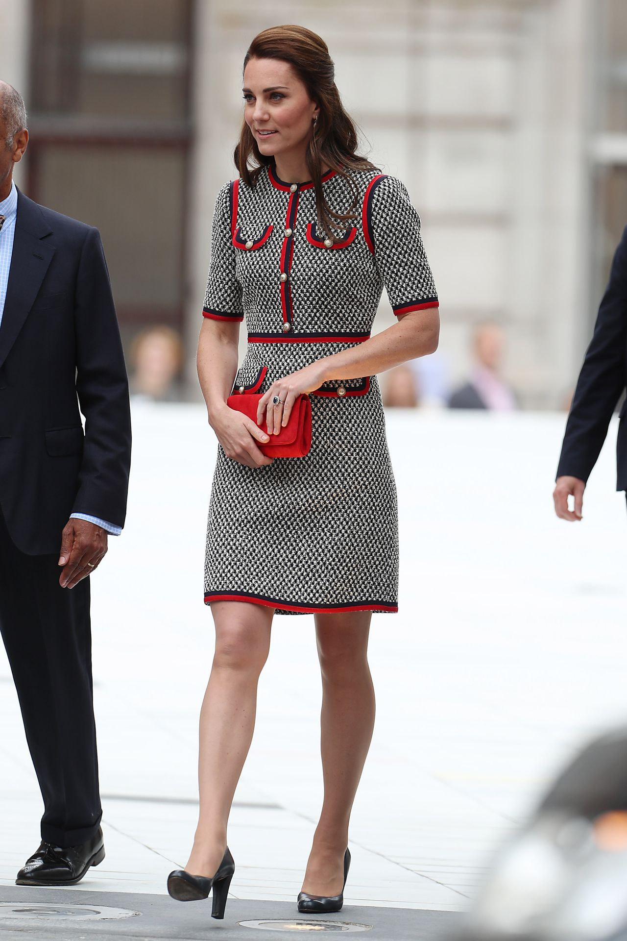Kate Middleton Victoria Albert Museumin In London 06