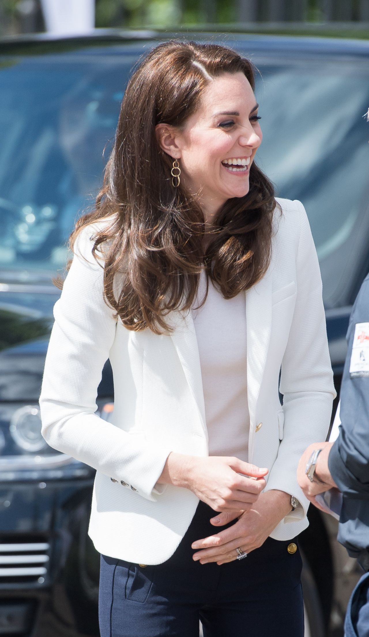 Kate Middleton Visits The 1851 Trust Roadshow In London