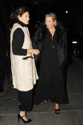 Kate Moss at Scotts Restaurant in Mayfair in London 06/11/2017