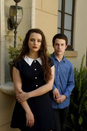 Katherine Langford & Dylan Minnette - Los Angeles Times 2017