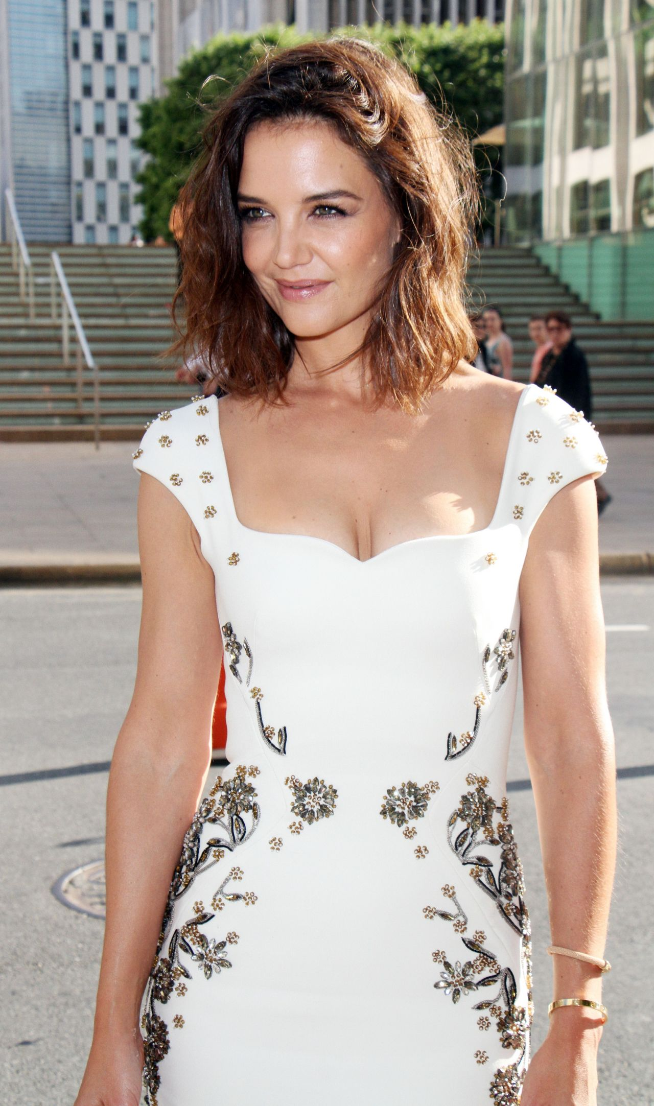 Katie Holmes - Fragrance Foundation Awards in New York 06 ...