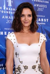 Katie Holmes - Fragrance Foundation Awards in New York 06/14/2017