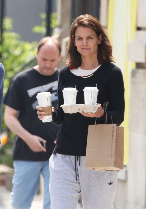 Katie Holmes - Out in Montreal, Canada 06/20/20107