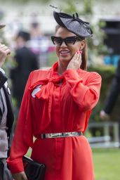 Katie Price at Royal Ascot in London 06/23/2017