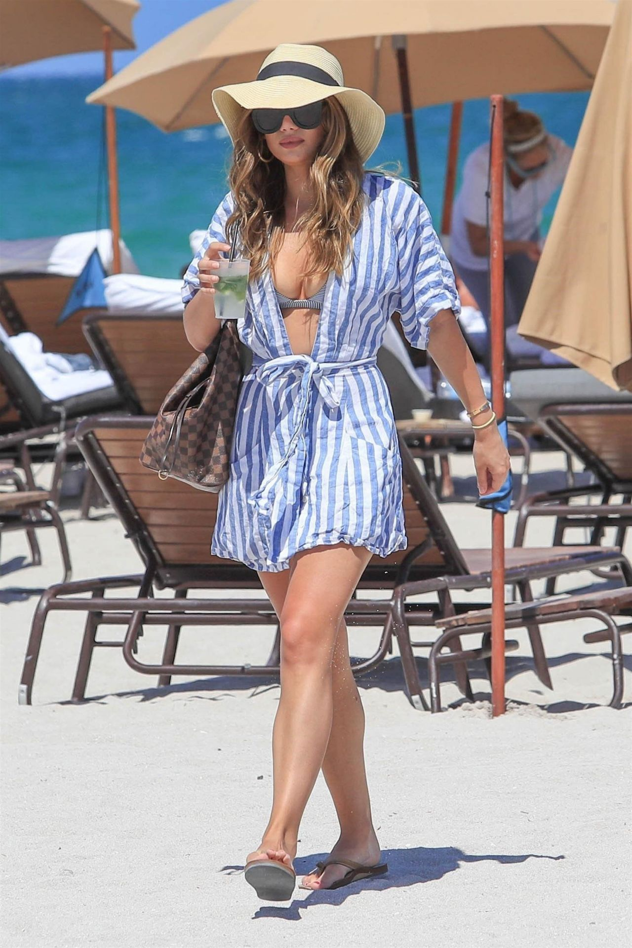 Keleigh Sperry in Bikini - Miami Beach 06/23/2017 • CelebMafia