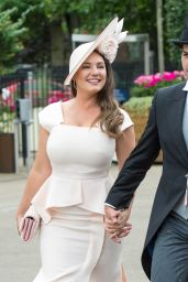 Kelly Brook - Royal Ascot Races in Berkshire, England 06/24/2017