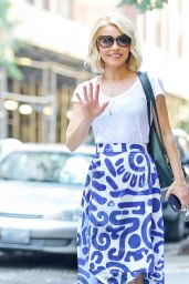 Kelly Ripa Chic Street Style - at the Lincoln Center in NYC 06/13/2017