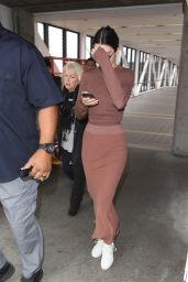 Kendall Jenner at LAX Airport in Los Anegeles 06/08/2017