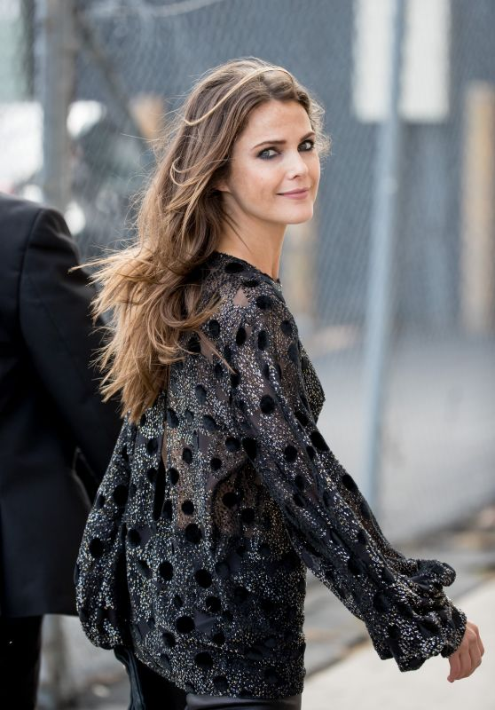 Keri Russell Arrive to Appear on Jimmy Kimmel Live in LA 05/30/2017