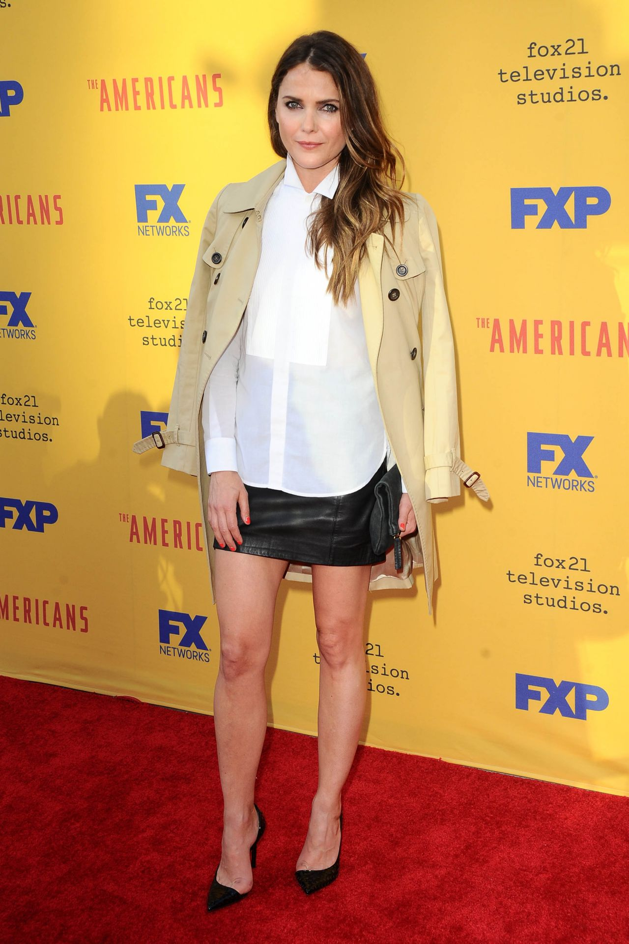 Keri Russell gorgeous at The Americans TV Show FYC Event