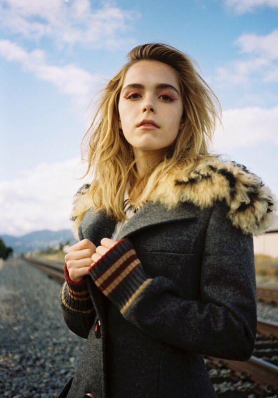 Kiernan Shipka - Wonderland Magazine Summer 2017 Cover and Pics