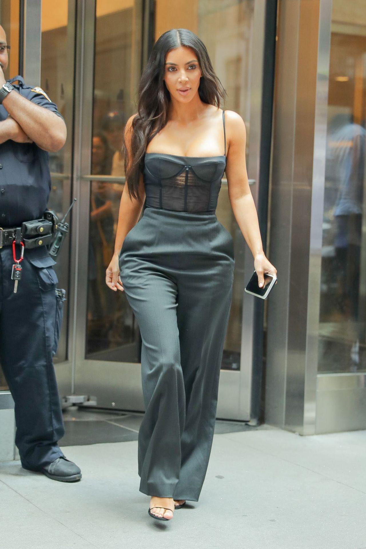 Kim Kardashian  Out in New York 06/14/2017