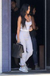 Kim Kardashian Street Style - at the Studio in LA 06/16/2017