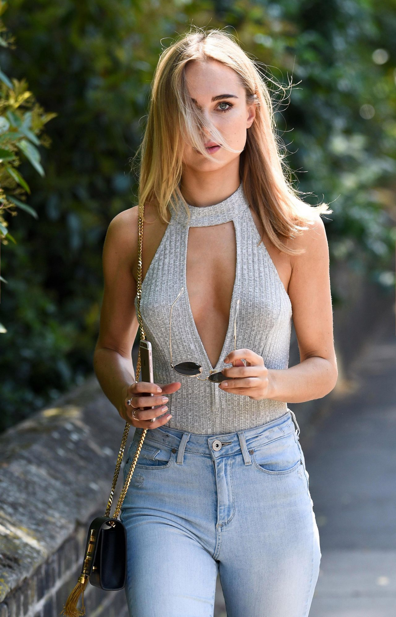 Kimberley Garner In Tight Jeans - Running Errands In -2476