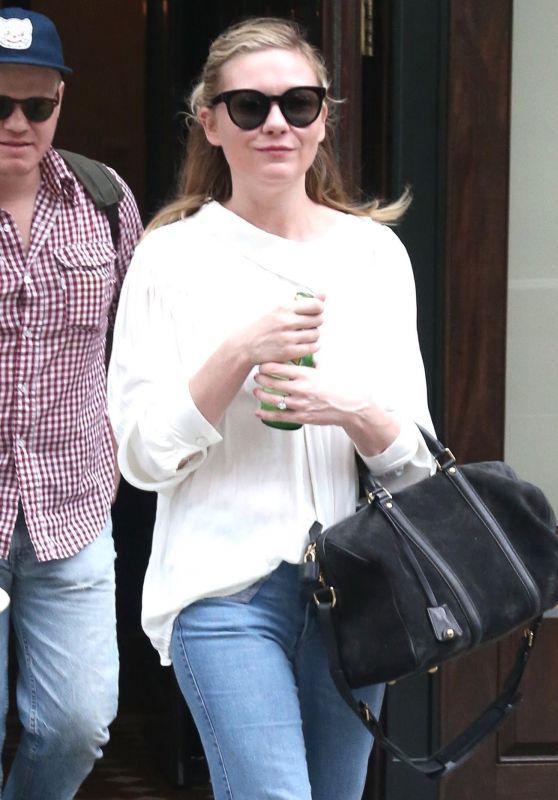 Kirsten Dunst - Leaving Her Hotel in New York 06/23/2017