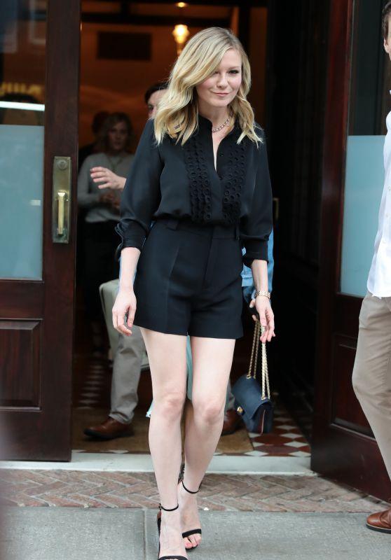 Kirsten Dunst - Lleaving Her Hotel in Tribeca, NY 06/15/2017